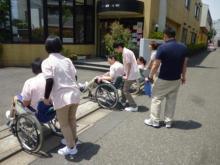 車椅子の演習