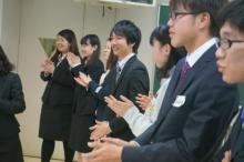 新入生歓迎の会(入学式の午後)